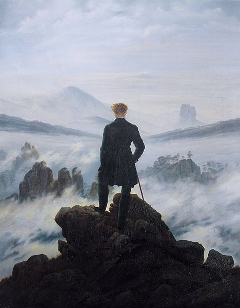 The Wanderer Above The Sea of Fog by Caspar Friedrich